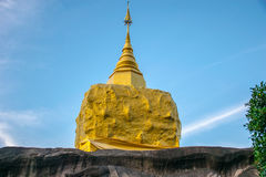 Templo do budista em Tailândia Província Sakonakorn Imagens de Stock Royalty Free