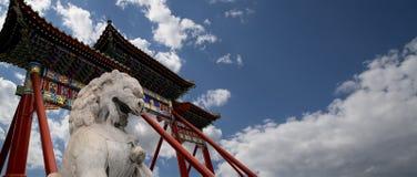 Templo do Céu (altar do céu), Pequim, China Imagens de Stock Royalty Free