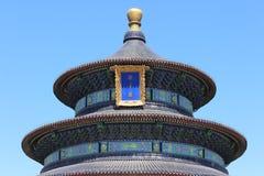 Templo do Céu no Pequim foto de stock