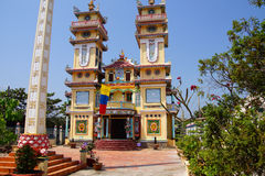Templo do Cao dai Fotografia de Stock Royalty Free