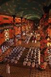 Templo do Cao dai, saigon, Vietnam foto de stock