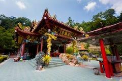 Templo do chinês de Foo Lin Kong fotografia de stock
