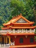 Templo do chinês tradicional Fotos de Stock Royalty Free