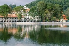 Templo do dente, Kandy, Fotos de Stock