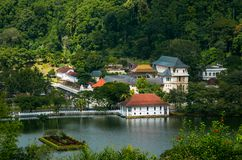 Templo do dente, Kandy, Sri Lanka Imagens de Stock Royalty Free