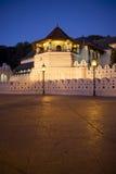 Templo do dente, Kandy, Sri Lanka imagem de stock