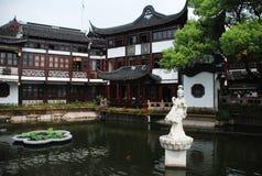 Templo do deus da cidade em Shanghai Fotos de Stock Royalty Free