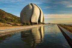 Templo do 'à do ¡ de Bahà de Ámérica do Sul Foto de Stock Royalty Free