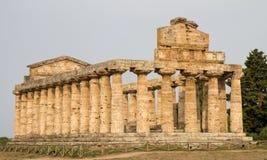 Templo do grego clássico do Athene Fotos de Stock