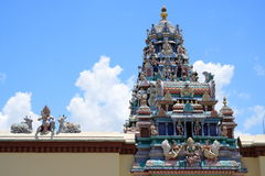 Templo do Hinduism em Penang imagem de stock royalty free