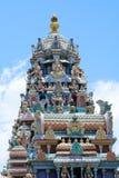 Templo do Hinduism em Penang fotos de stock royalty free