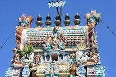Templo do Hinduism em Penang fotos de stock