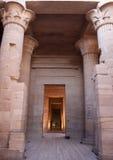 Templo do Isis imagem de stock