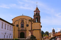 Templo do jesuíta, patzcuaro mim Imagens de Stock