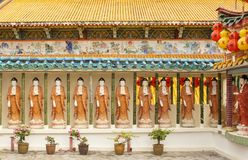 Templo do Kek-Lok-si, ar Hitam, Penang, Malásia imagens de stock royalty free