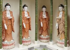 Templo do Kek-Lok-si, ar Hitam, Penang, Malásia imagens de stock