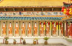 Templo do Kek-Lok-si, ar Hitam, Penang, Malásia fotos de stock royalty free