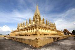 Templo do lao fotografia de stock royalty free