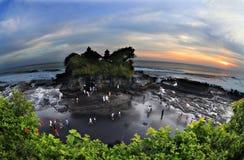 Templo do lote de Tanah fotos de stock royalty free