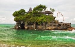 Templo do lote de Tanah (lote de Pura Tanah) Imagens de Stock