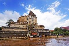 Templo do luang de Chedi foto de stock