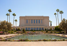 Templo do Mesa o Arizona de LDS Imagens de Stock Royalty Free