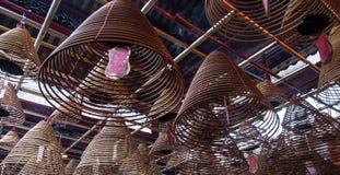 Templo do Mo do homem, Hong Kong Fotos de Stock
