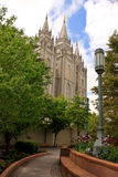 Templo do Mormon LDS de Salt Lake Fotografia de Stock