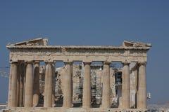 Templo do Partenon no monte da acrópole em Atenas, Grécia Foto de Stock Royalty Free