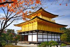 Templo do pavilhão dourado Imagens de Stock