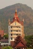 Templo do phasornkaew de Wat, opinião de A do templo bonito Localizado no pH imagem de stock royalty free