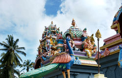 Templo do punchi de Katharagama Imagens de Stock Royalty Free
