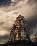 Templo do rei Rajendravarman Foto de Stock