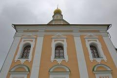 Templo do ` s de St George, Vladimir, Rússia imagens de stock royalty free