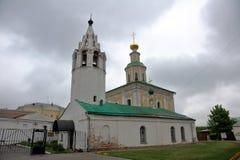 Templo do ` s de St George, Vladimir, Rússia imagem de stock