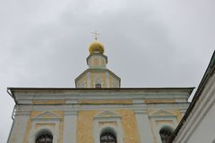 Templo do ` s de St George, Vladimir, Rússia imagens de stock