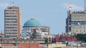Templo do ` s do St Sava, Belgrado fotografia de stock royalty free
