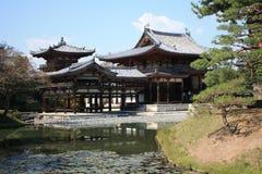 Templo do salão de Byodoin Phoenix, Uji, Kyoto Japão Fotografia de Stock