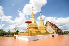 Templo do sala do montol do jao de thar do queixo de Phra Maha, Lamphun Tailândia Fotografia de Stock