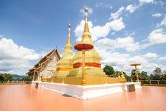 Templo do sala do montol do jao de thar do queixo de Phra Maha, Lamphun Tailândia Fotos de Stock Royalty Free
