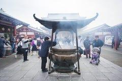Templo do santuário foto de stock