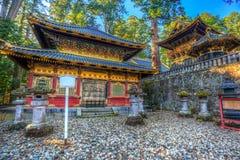 Templo do santuário de Toshogu em Nikko, Japão fotos de stock