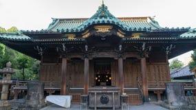 Templo do santuário de Ushijima no parque de Sumida, Tóquio, Japão foto de stock royalty free