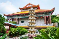 Templo do si do lok de Kek, cidade de Geroge Fotografia de Stock Royalty Free