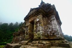 Templo do songo de Gedong Fotos de Stock