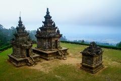 Templo do songo de Gedong Imagem de Stock