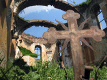 Templo do St. Luka do século XV Imagens de Stock
