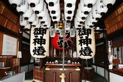 Templo do taisha de Sumiyoshi foto de stock