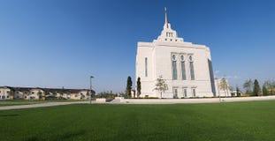 Templo do ucraniano de Kiev do Mormon Fotografia de Stock