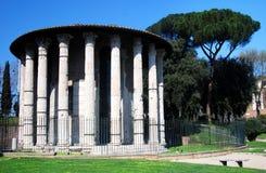 Templo do vencedor de Hercules em Roma Fotografia de Stock Royalty Free
